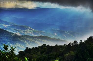 Chiang Mai behind