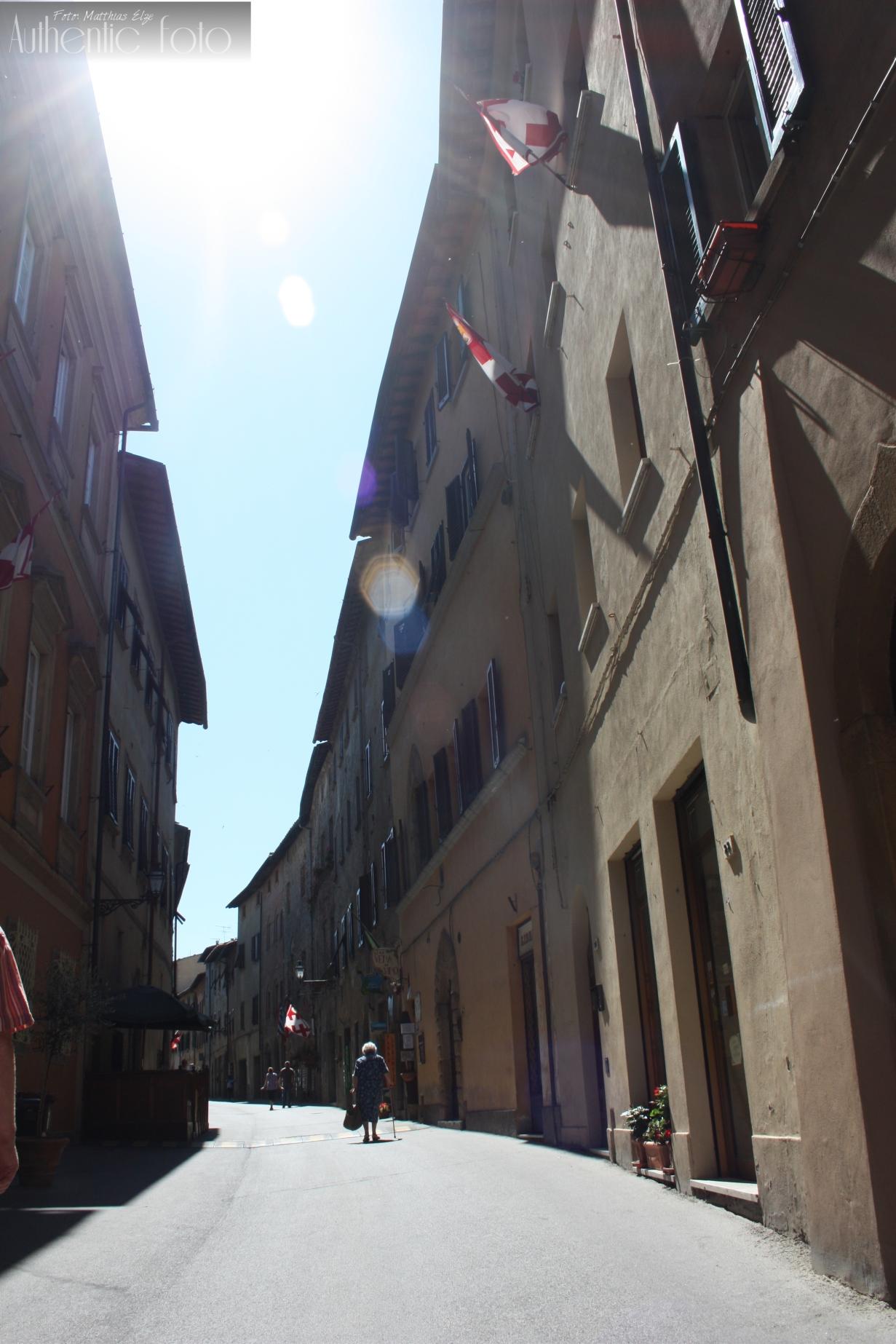 Volterra Toskana Häuserschluchten